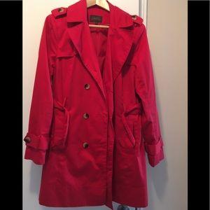 Red Spring Jacket / Pea Coat